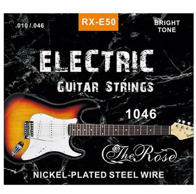 Electric Guitar Strings 1046 Bright Tone Premium E-30 Nickle Plated Steel Wire Wound