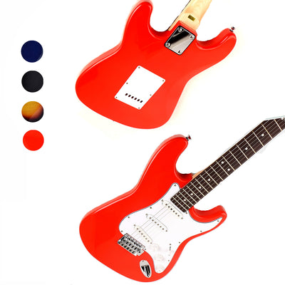"Electric Guitar Full Size 39"" 4 colours available Brand New in Box"