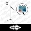 Tablet Phone Tripod Floor Stand Adjustable Height & Boom 360° Clamp Mount Holder