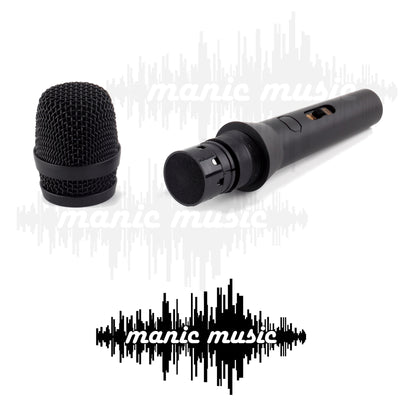 Professional Vocal Karaoke Stage Microphone w/ Switch & Mic Cable Rugged Metal Body