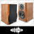 ASHTEC Speakers Studio Monitor 550 Timber Bookshelf Surround Karaoke FREE POSTAGE