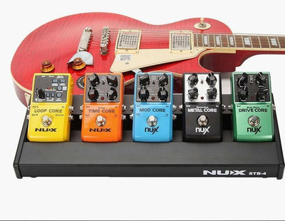Guitar Effect Pedal Board with Portable Carry Bag NUX STB-4