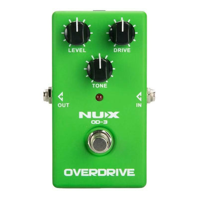 Guitar Effect Pedal Vintage Overdrive NUX OD-3 True Bypass NEW