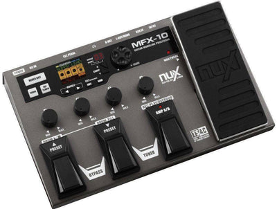 Guitar Effects Pedal Digital  32bit  Multi Processor NuX MFX10