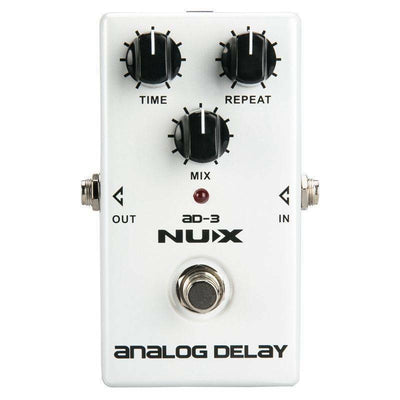 Guitar Effects Pedal NUX AD-3 Analog Delay Effect Low Noise BBD