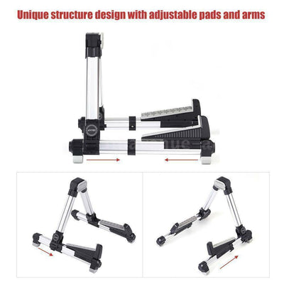 Guitar Stand Universal Instrument Folding Adjustable Alloy Frame