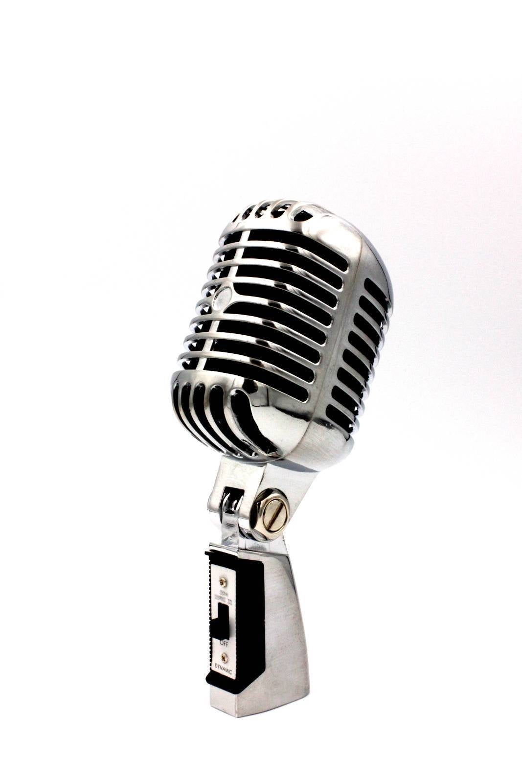 Classic Retro Vintage style Dynamic Vocal Microphone