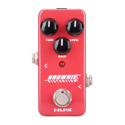 Guitar Distortion Pedal Classic British Rock Brownie Nux NDS-2