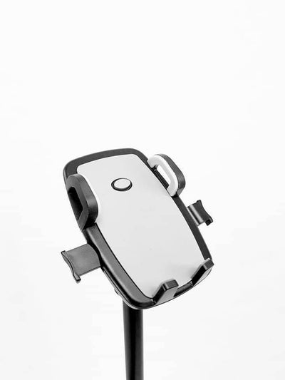 Mic Stand Phone Holder Mount Clip Adjustable Attachment 360 degree
