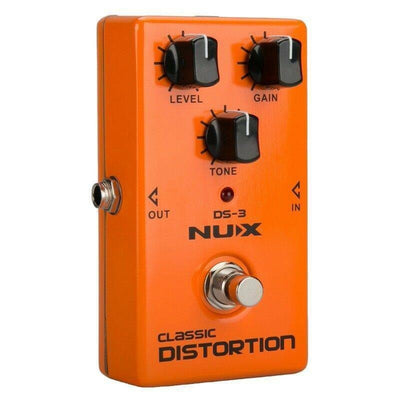 Guitar Effect Pedal Classic Distortion NUX DS-3 True Bypass NEW