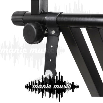 Extension Bracket Arm for Keyboard Stand Dual Tier