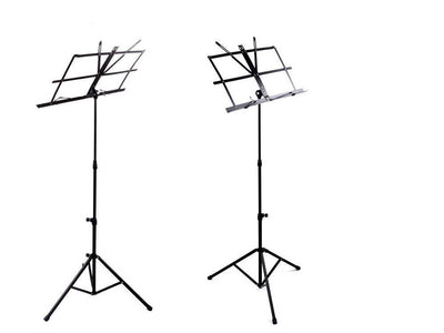 Sheet Music Stand with Bag Adjustable Foldable Light Weight