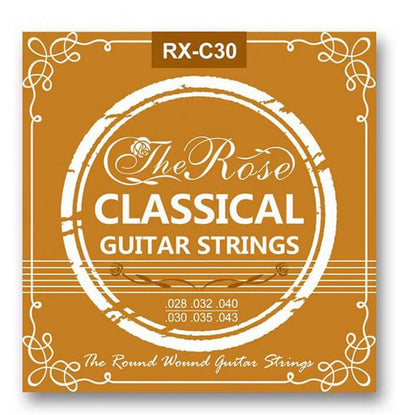 Nylon Guitar Strings Acoustic Classical RX-30 Premium Universal 28-43 + Free Pick