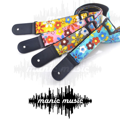 Ukulele Ukelele Shoulder Strap Adjustable Nylon Colourful Classic Design