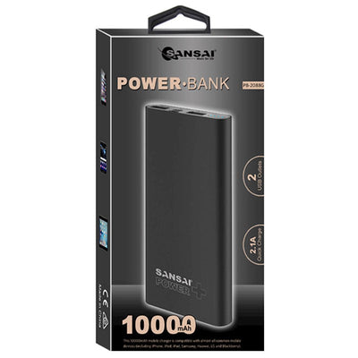 10000mAh Portable Power Bank Universal Aluminum Alloy Case Smart sleep for Phone Tablet Camera