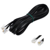 2.5m Telephone Phone Cable Cord RJ11 Plug Extension ADSL2 Filter Modem Fax FREE POSTAGE