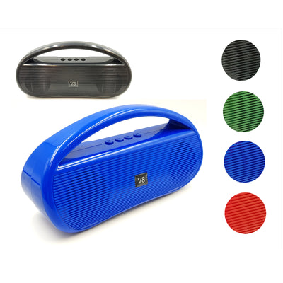 Portable Wireless Bluetooth Stereo Music Speaker TWS Bass FM USB TF AUX MP3