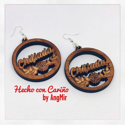 Chiflada Laser Cut earrings