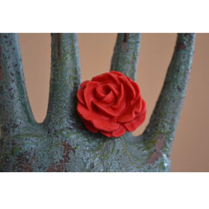 Vivian FlyMariposa Garcia Rose statement ring