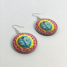 Load image into Gallery viewer, Moon Goddess earrings