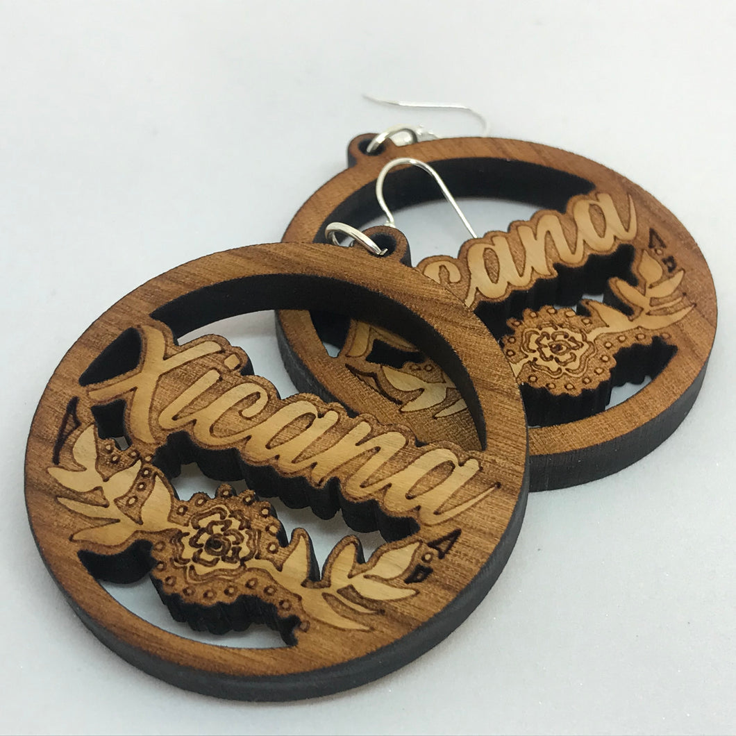 Xicana Laser Cut earrings