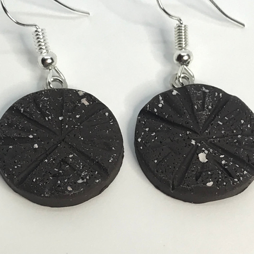 Chocolate Abuelita Earrings