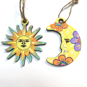 Luna y Sol ornament sets