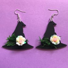 Load image into Gallery viewer, Witch's hat earrings