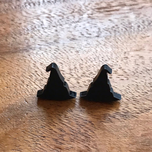 Witch's Hat Stud earrings