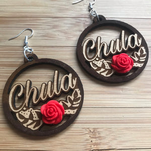 Chula Laser Cut earrings