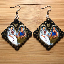 Load image into Gallery viewer, Frida inspired earrings