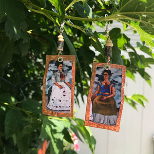 Frida Copper earrings