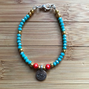 Ojo Crystal protection Bracelet