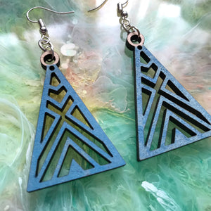 GeoRetro earrings