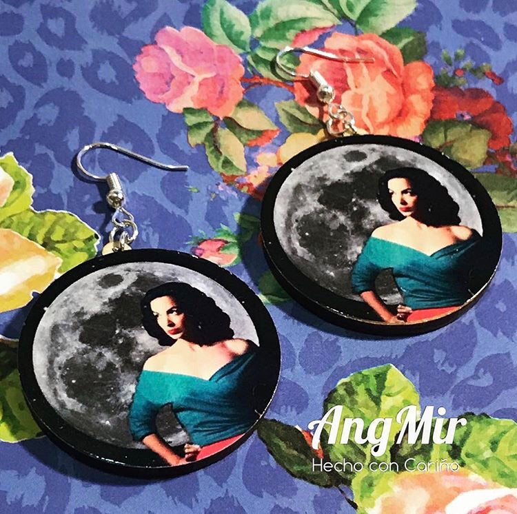 Luna Maria Félix inspired earrings