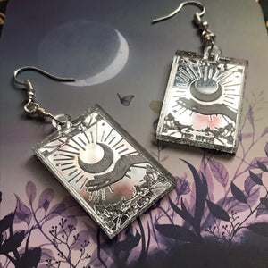 The Moon - earrings