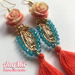 Virgen de Guadalupe Earrings