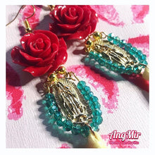 Load image into Gallery viewer, Virgen de Guadalupe Earrings