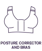 Siluet Posture corrector and bras