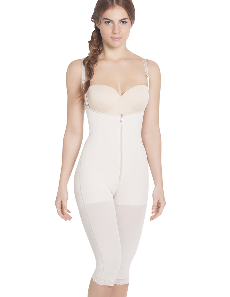 1006-1 Capri Length Under Bust Body Shaper