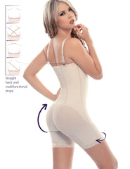 1007-1 Mid-Thigh Body Shaper