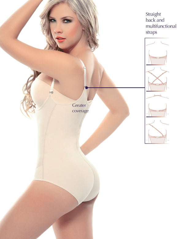 1025-1 Panty Strapless Shapewear with Latex