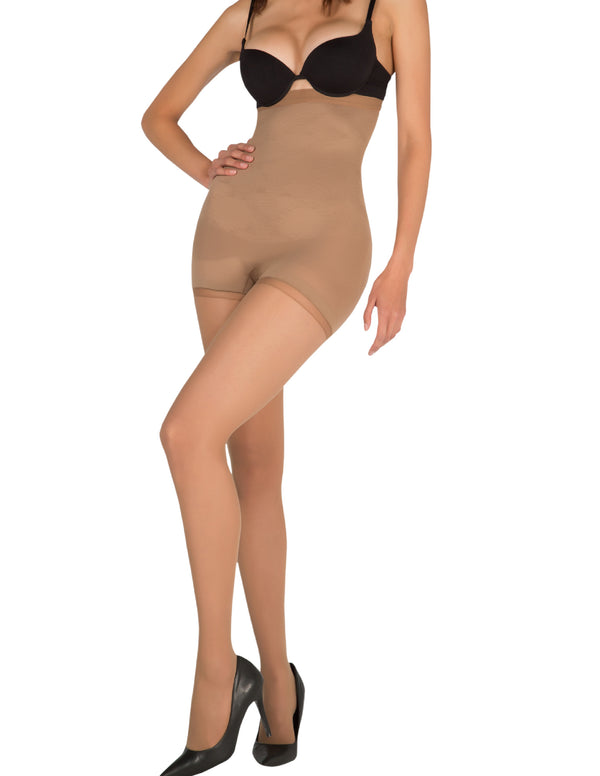 1T1824 Seamless High- Waisted Shaper Tights
