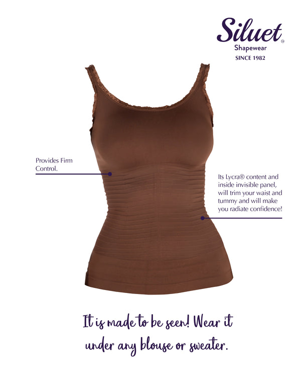 1T2176 Tall® Glamour Seamless Shaping Camisole for Exterior Use