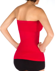 1T2253 Exterior Use Seamless Shapewear Strapless Tank