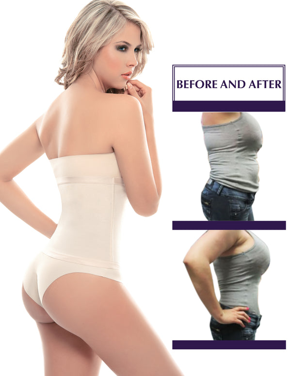 4000 No Closure Thermo-Reducer Waist Cincher