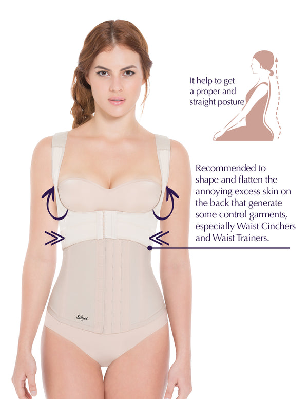 Siluet® Vanilla 2010 Posture Corrector and Back Shaper