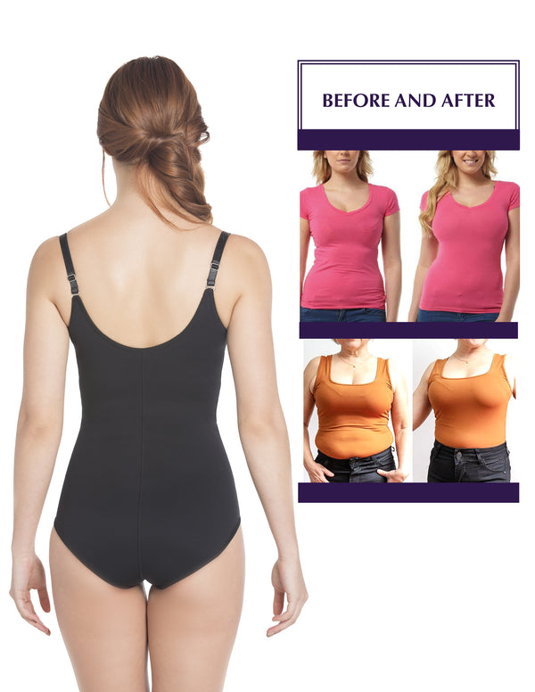 E6005 Slimming Braless Classic Panty Body Shaper