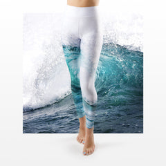 WAP High Waist Tummy Control Leggings Water Action 1