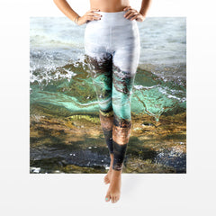 WAP High Waist Tummy Control Leggings Water Action 2